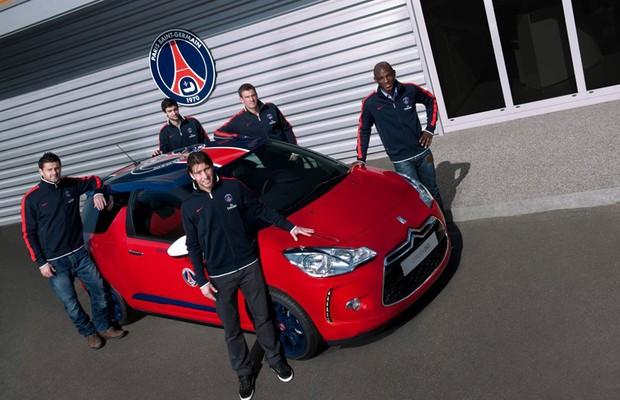 PSG e Citroën prorrogam parceria por mais três temporadas (Foto: Divulgação)