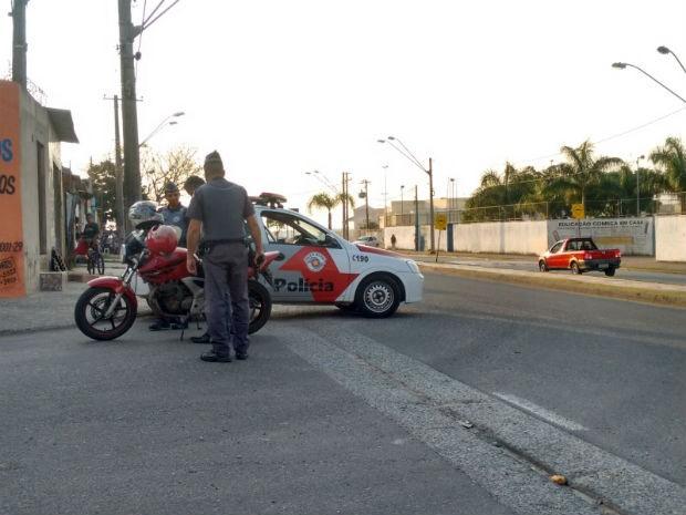 Polícia Militar fez operação no bairro Habiteto, em Sorocaba (Foto: Divulgação/ Polícia Militar)