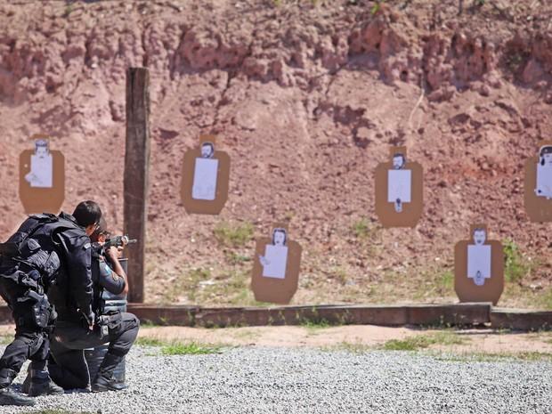 Policiais da UPP Nova Brasília fazem curso de aprimoramento (Foto: Divulgação Polícia Militar)