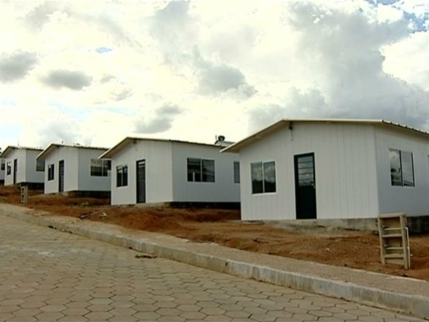 Imóveis do Minha Casa, Minha Vida estão quase prontos (Foto: Reprodução/ TV Gazeta)