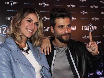 Fight2Night, Giovana Ewbank e Bruno Gagliasso (Foto: Adriano Albuquerque)