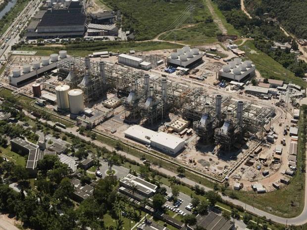 Usina termelétrica da Petrobras em Duque de Caxias (RJ). Lista colocou a estatal brasileira entre as 20 empresas que mais emitiram gases-estufa em 2013 (Foto: Divulgação/Agência Petrobras)