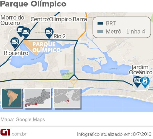 Como Chegar ao Parque Olímpico Para a Olimpíada 2016