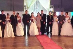 casamento coletivo (Foto: Divulgação)