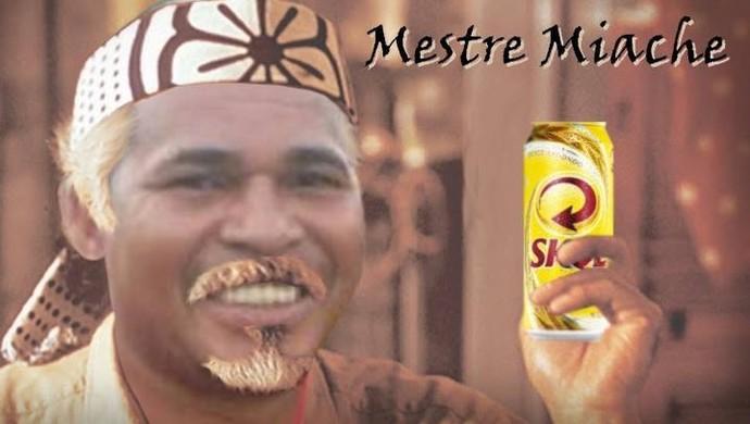 """Aloísio Chulapa, o """"Mestre Miache"""" (Foto: Reprodução Facebook)"""