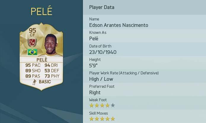 Pelé (Foto: Divulgação/EA)