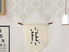 Aprenda a fazer flâmula de tecido fofa para decorar a casa