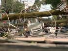Ventos de mais de 80 km/h causam morte e deixam feridos no RS