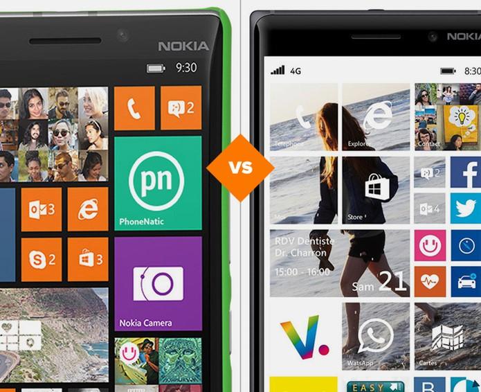 Lumia 830 ou Lumia 930? Confira qual smartphone é a melhor opção da Microsoft (Foto: Arte/TechTudo)