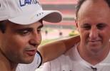 Pilotos de F1 participam de jogo festivo no Morumbi