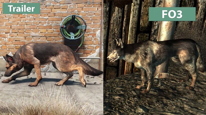 Vídeo compara os gráficos de Fallout 4 com seu antecessor, Fallout 3 (Foto: Reprodução/DSOGaming)