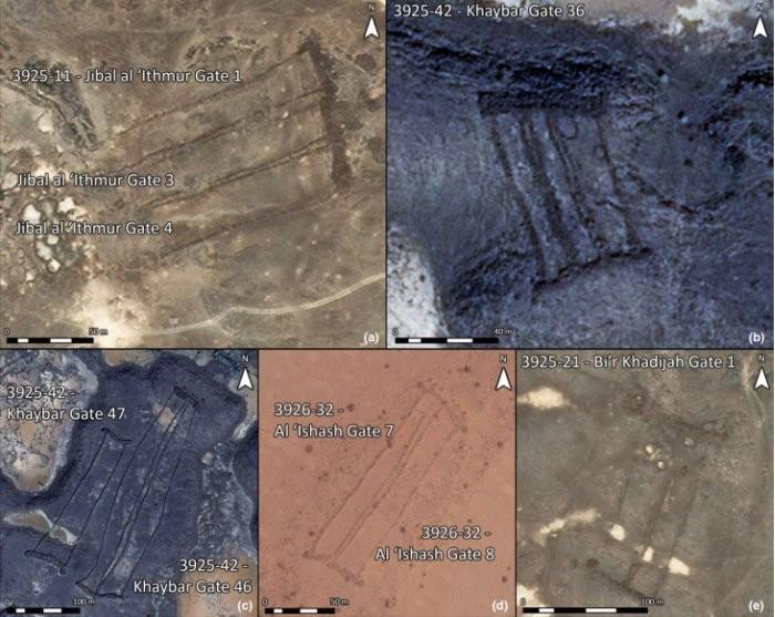 Imagens feitas com auxílio da tecnologia (Foto: D. Kennedy, Arabian Archaeology and Epigrahy)