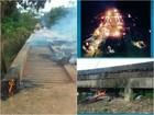 Três são presos pela PF suspeitos de incendiar ponte e isolar Sul do Amapá