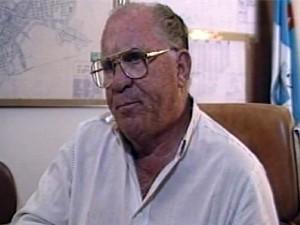 Ex-prefeito de São Sebastião do Paraíso morreu aos 90 anos (Foto: Reprodução EPTV)