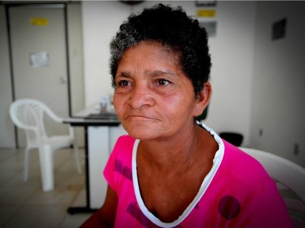 Encontrada no bairro Jardim Araçá, Maria Inês demonstrou falhas de memória e apresentou várias versões de sua identidade. (Foto: Mayke Toscano / Prefeitura de Cuiabá)
