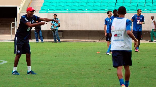 treino do bahia; arena fonte nova; cristovao borges (Foto: Divulgação/EC Bahia)