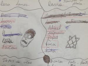 Adolescente listou o que precisava e como cometeria o crime em Jataí, Goiás (Foto: Saulo Prado/ Arquivo Pessoal)