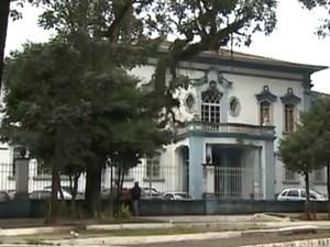 Fórum de Taubaté (Foto: Reprodução/TV Vanguarda)