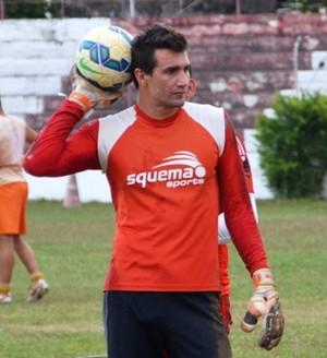 Tiago Rocha,goleiro Rio Branco-AC (Foto: Duaine Rodrigues)