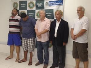 Operação prende suspeitos de aplicar golpes bancários no RJ. (Foto: Alba Valéria Mendonça/G1)