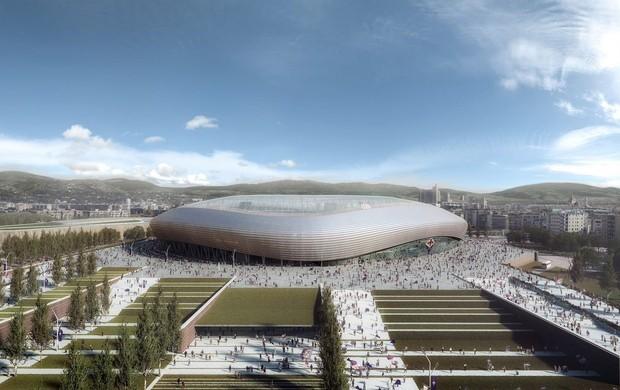 BLOG: Fiorentina apresenta desenho de novo estádio para 40 mil pessoas