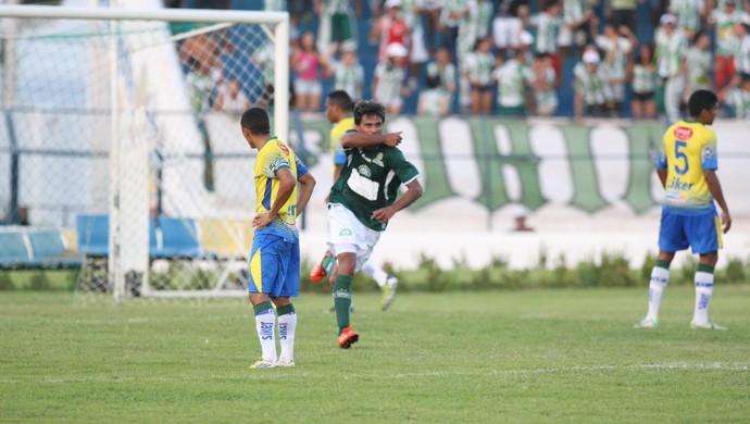 Icasa bate Quixadá em casa com gol de Diego Ceará  (Foto: Normando Sóracles/ Agência Miséria)