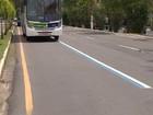 Desembargador suspende liminar que pedia retirada de faixa de ônibus