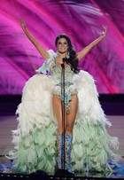 Miss Brasil usa fantasia de carnaval em preliminar do Miss Universo