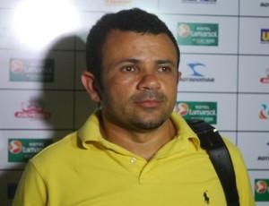 Josivaldo Alves, presidente do CSP (Foto: Rammom Monte / GloboEsporte.com/pb)