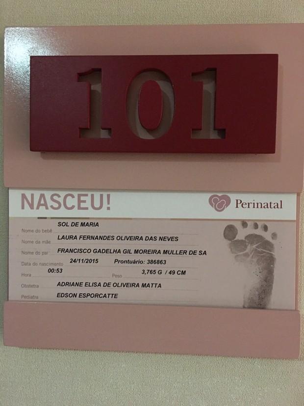 Informações sobre o nascimento da neta de Preta Gil (Foto: Midiorama / Reprodução)