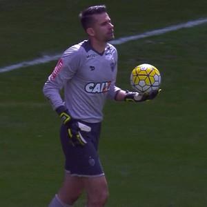 Atlético-MG; Victor (Foto: Reprodução/Premiere)