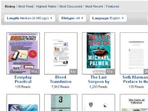 e-books disponíveis scribd