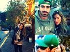 Ex-BBBs Adriana e Rodrigão viajam e postam foto em rede social