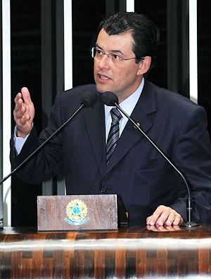 Eduardo Braga, Lei geral da Copa (Foto: Waldemir Barreto / Agência Senado)