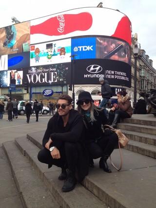 Lucas Lucco com a mãe, Karina Lucco (Foto: Arquivo Pessoal)
