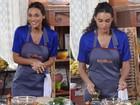 Na cozinha, Débora Nascimento entrega Loreto: 'Nunca fritou um ovo para mim'