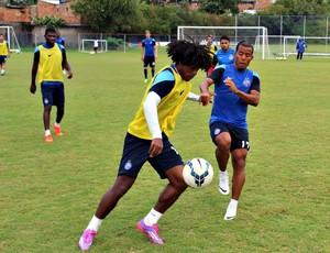 William Barbio durantre treinamento no Fazendão (Foto: Divulgação/E.C. Bahia)