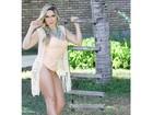 Fiu-Fiu! Ex-BBB Renatinha exibe pernão em ensaio fotográfico