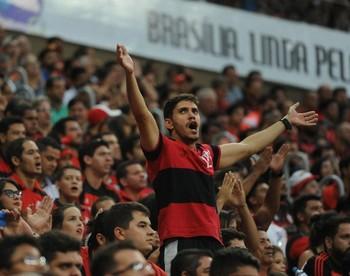 Flamengo estreou na Primeira Liga vencendo o Grêmio, no Mané Garrincha (Foto: Divulgação / Flamengo)