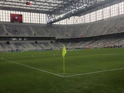 Arena da Baixada (Foto: Nadja Mauad/RPC)