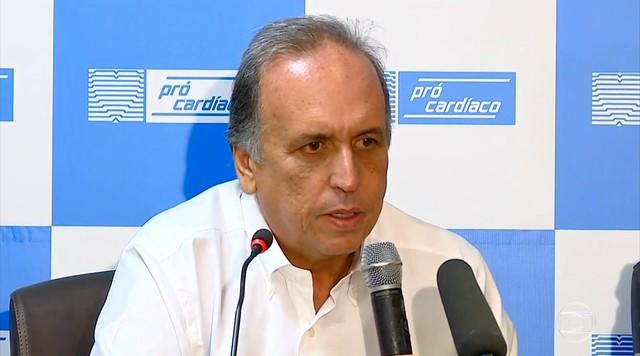 Pezão se afasta do governo do RJ para tratar de linfoma não-Hodgkin