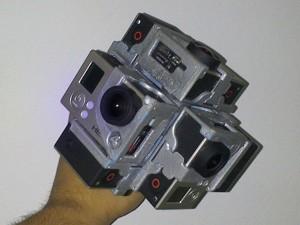 Imagens são registradas por várias câmeras ao mesmo tempo e reunidas em computador (Foto: Divulgação / Casamais360)