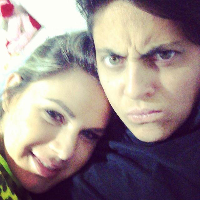 Nilceia e Thammy (Foto: Reprodução/Instagram)