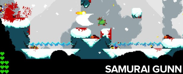 'Samurai Gunn' já foi lançado para PC e ganha versão para PS4 (Foto: Divulgação)