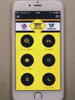 Ferramenta é gratuita e está disponível para os sistemas Android e IOS (Foto: Divulgação/Detran)