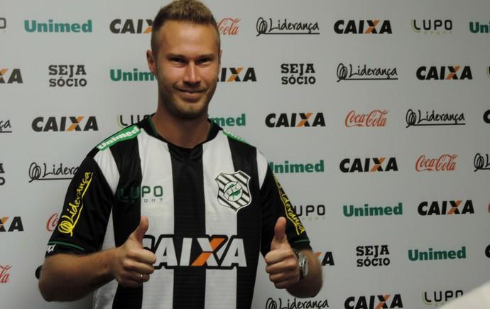 Alemão Figueirense (Foto: Diego Madruga)