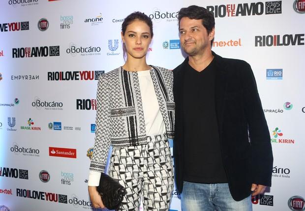 Laura Neiva e Marcelo Serrado (Foto: Iwi Onodera / EGO)