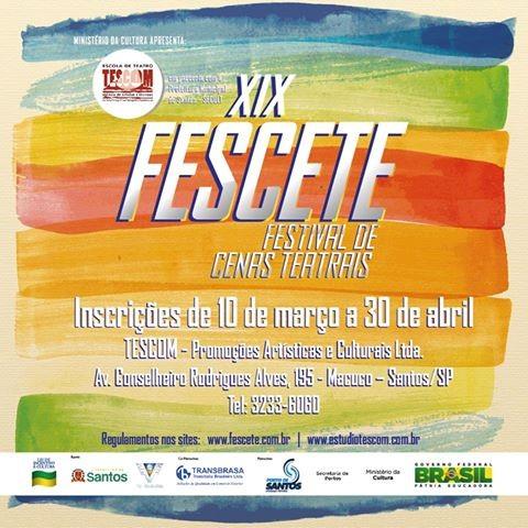XIX Fescete  (Foto: divulgação - Tescom)