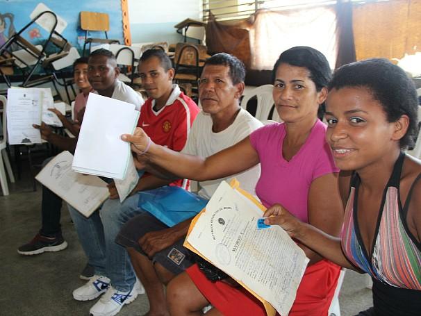 Ação global chega à Ilha do Governador (Foto: Divulgação/Alessandra de Paula)