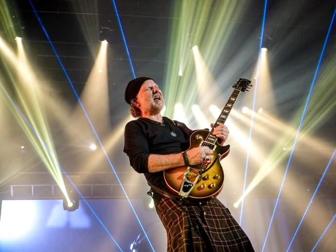 Guitarrista Tuco Marcondes já tocou com PR e volta aos palcos com o cantor  (Foto: Juliana Hippertt/Gshow)